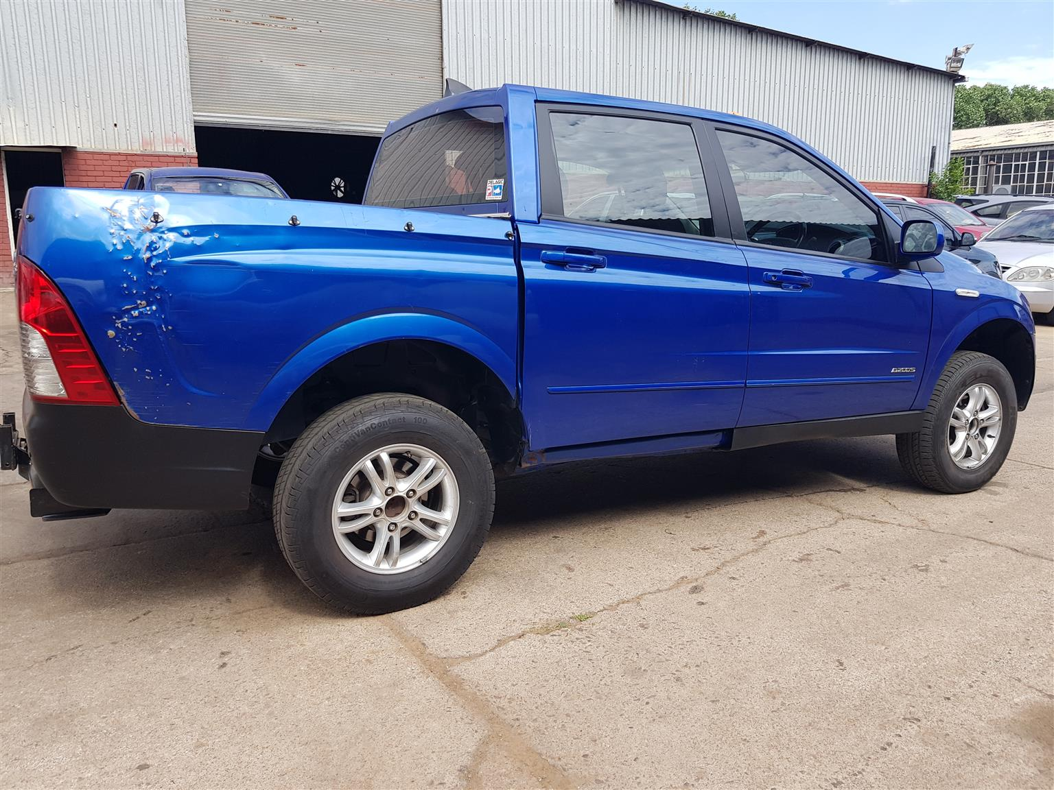 2010 Ssangyong Actyon Sports
