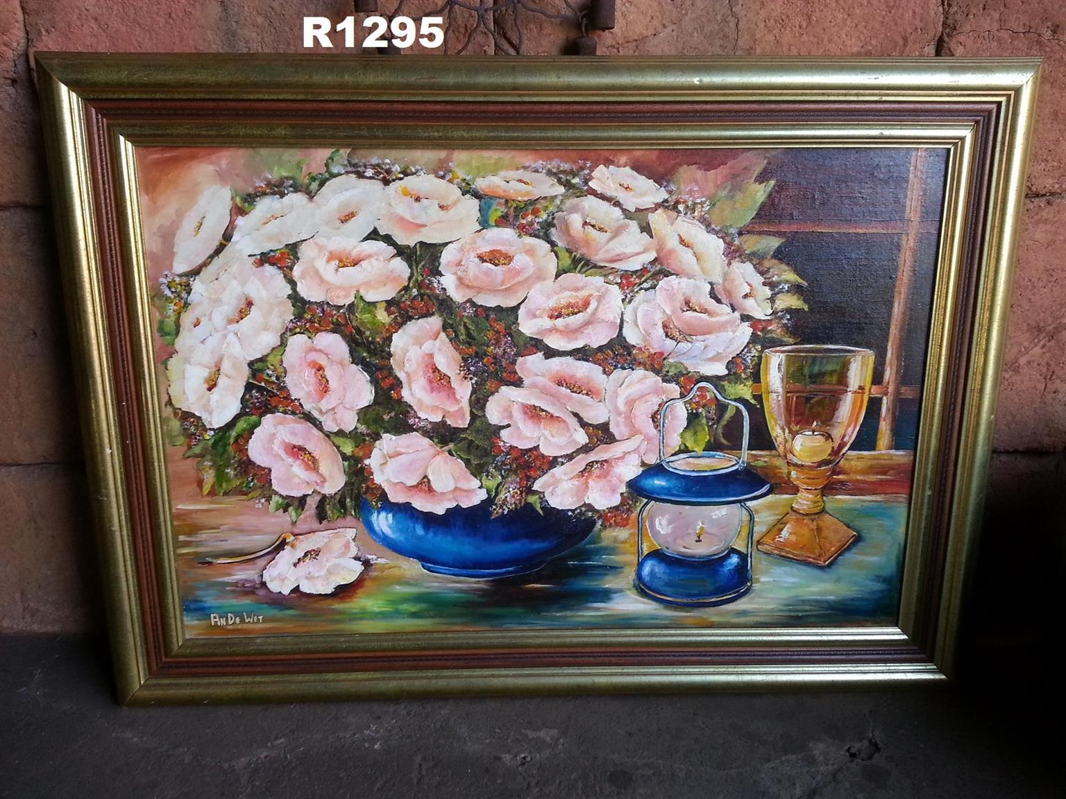 Original An de Wet Oil Painting (1115x795)