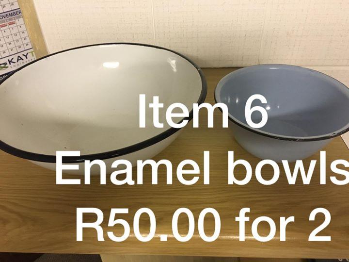Enamel bowls for sale