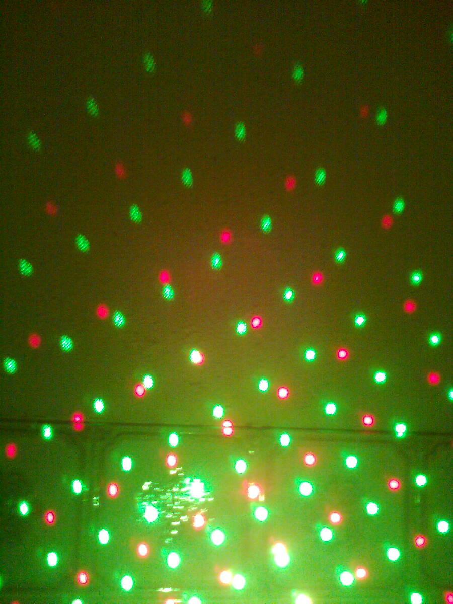 Mini-laser lighting