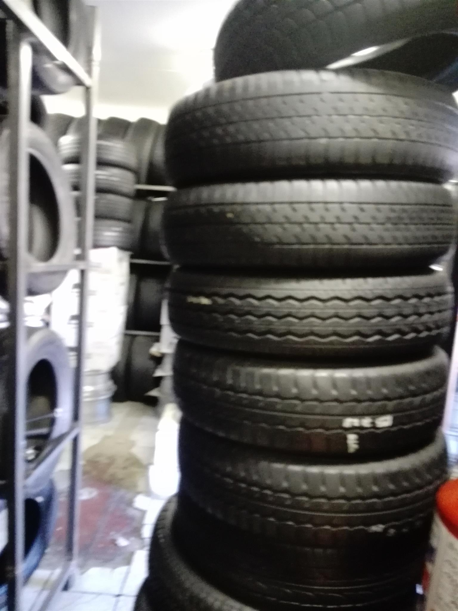 Size 12 Double king tyres new and second hand