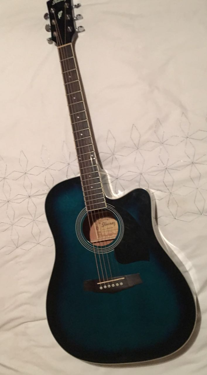 Ibanez acoustic electric guitar for sale