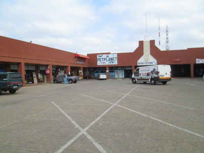 Shop for motor trade with drive-in access