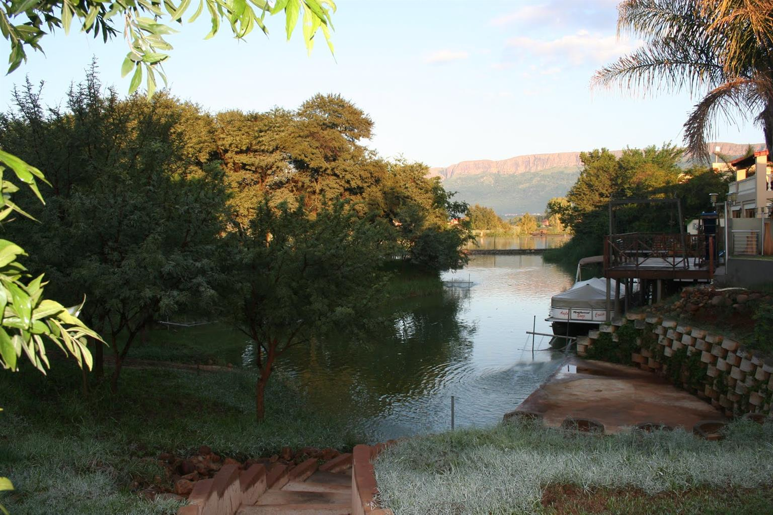 Boaters House on the Shores of Hartbeespoort Dam