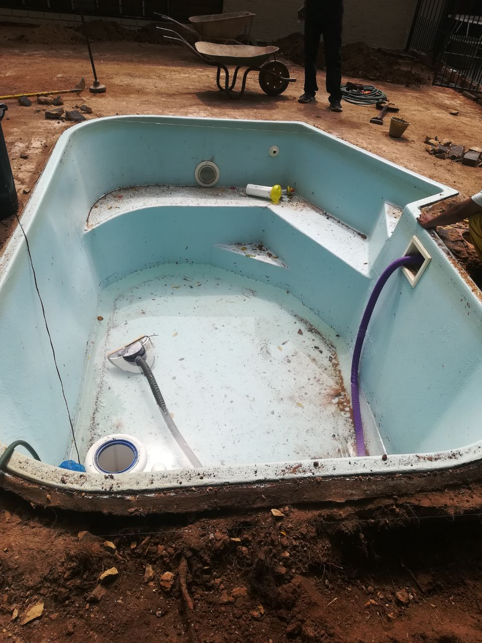 Fiberglass Swimming Pool for Sale | Junk Mail