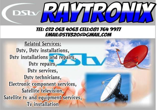 DSTV TECHNICIAN IN STELLENBOSCH 24/7 0720634063