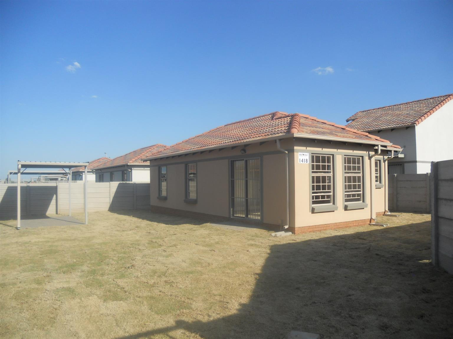 New house for sale at Westview security estate