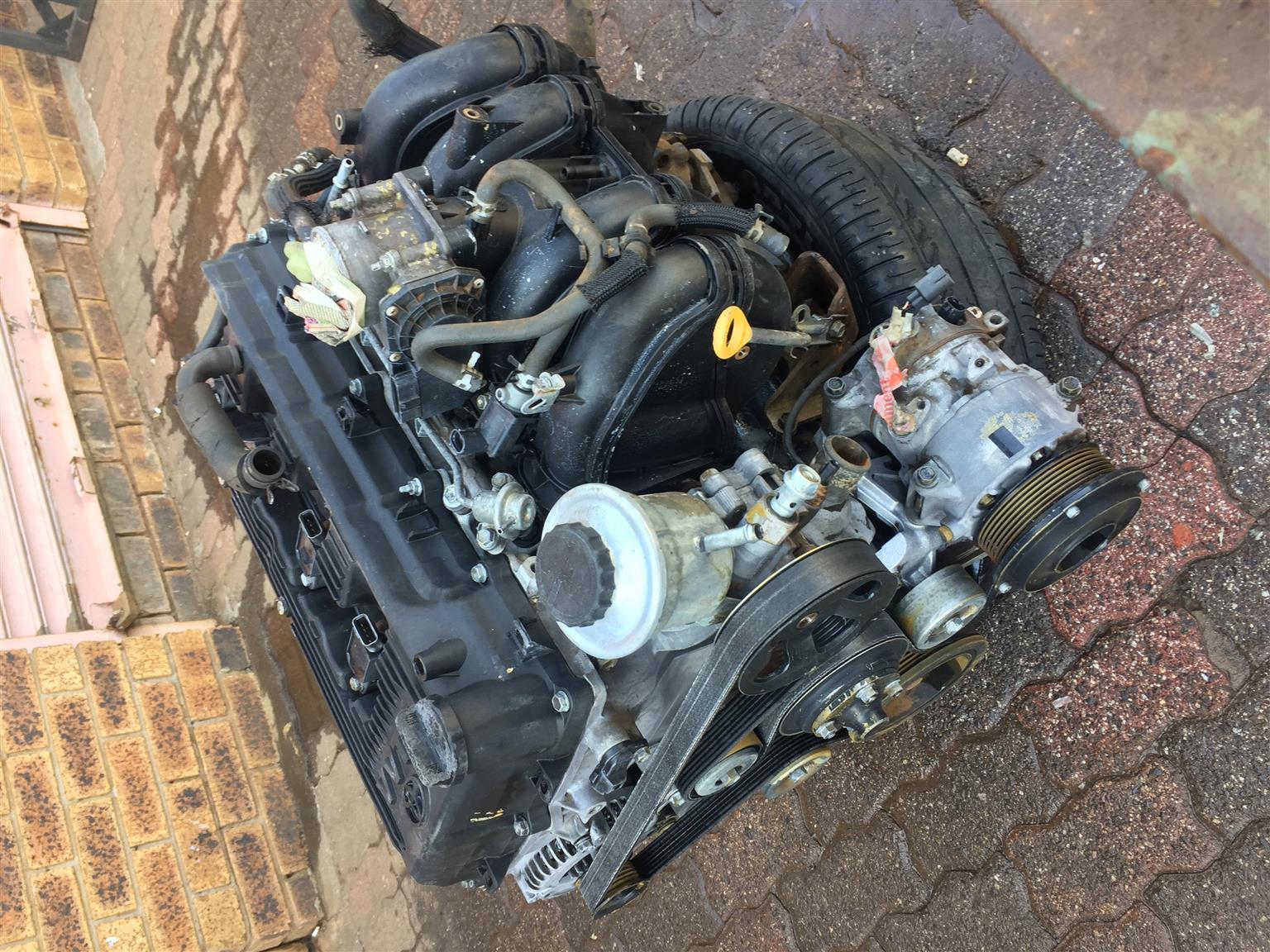 Toyota Quantum 2.7 petrol engine special