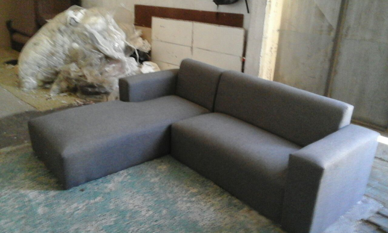 new grey daybed couch