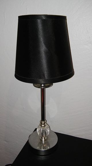 Black table lamp for sale