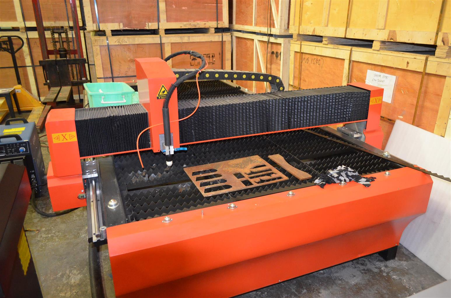 C N C Laser cutters, Plasma cutters and Routers