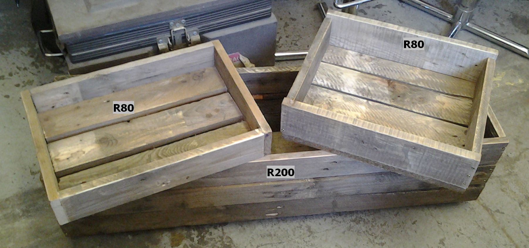 WOODEN BOXES (CUSTOM MADE)