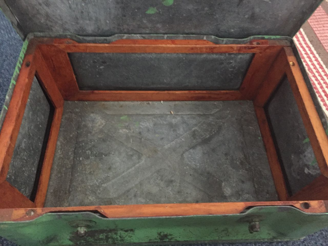 World War II Metal crate