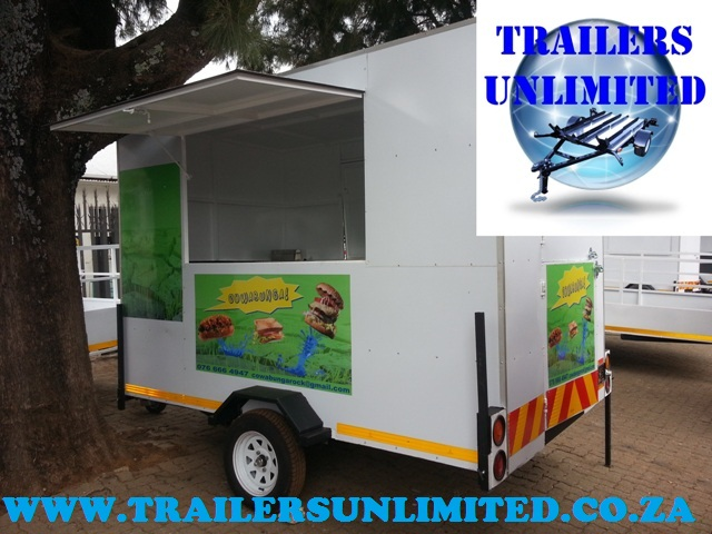 Fast Food Trailer 1850 x 1650 x 2010