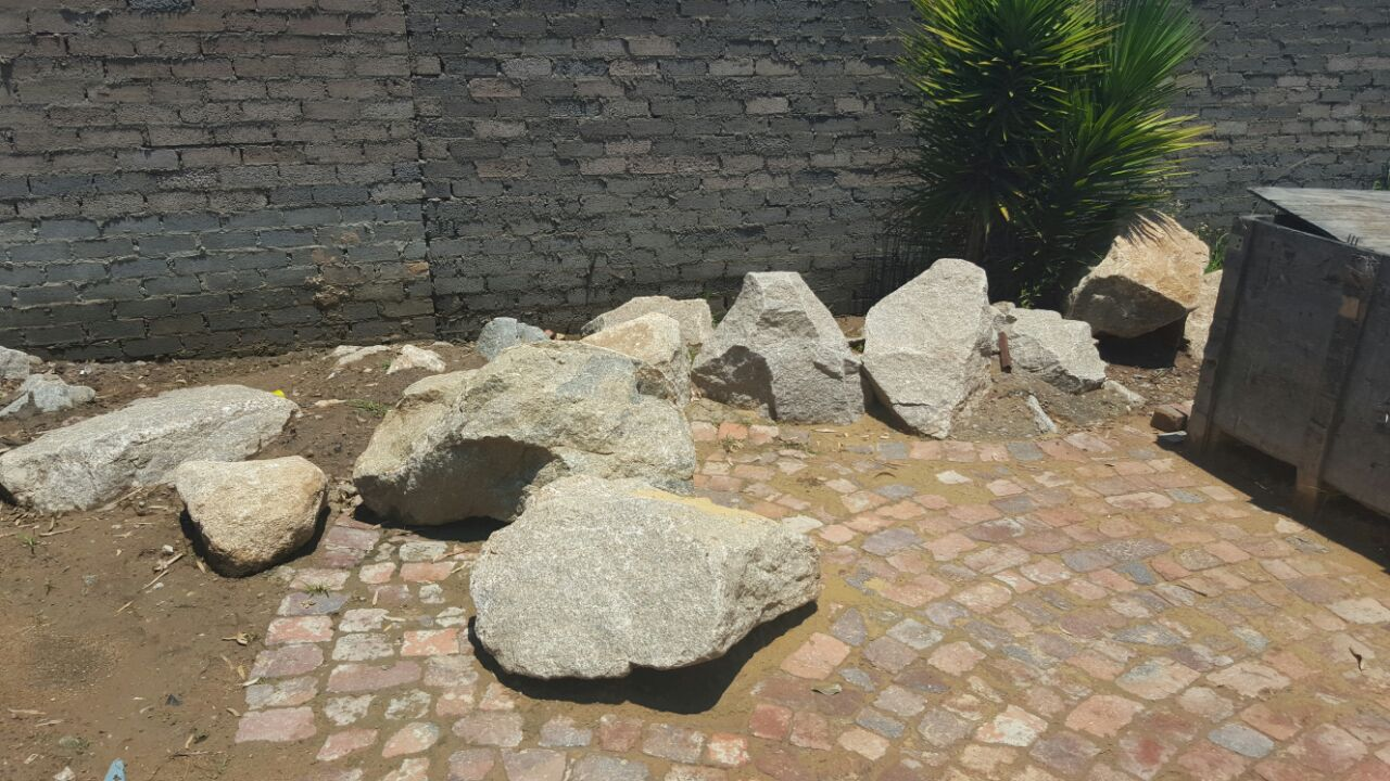 MIDRAND - Big and small rocks for water features etc available  - for Free