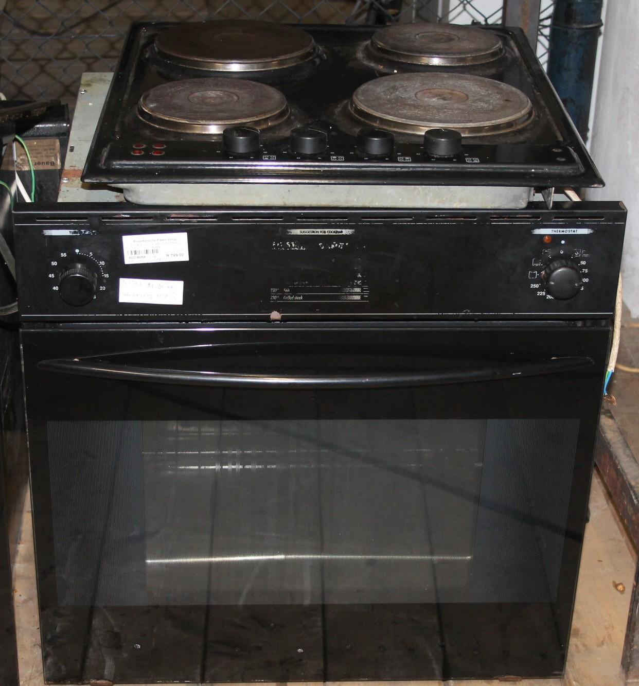 4 Plate stove S027805a #Rosettenvillepawnshop