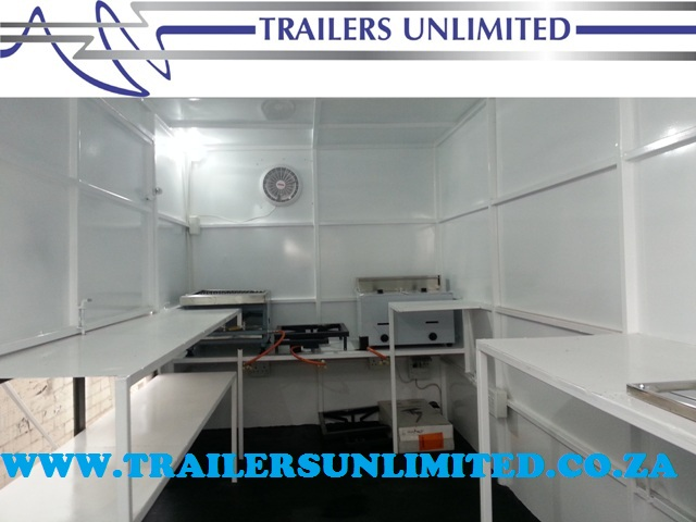 TRAILERS UNLIMITED THE CLEANEST BEST QUALITY MOBILE KITCHENS IN AFRICA.