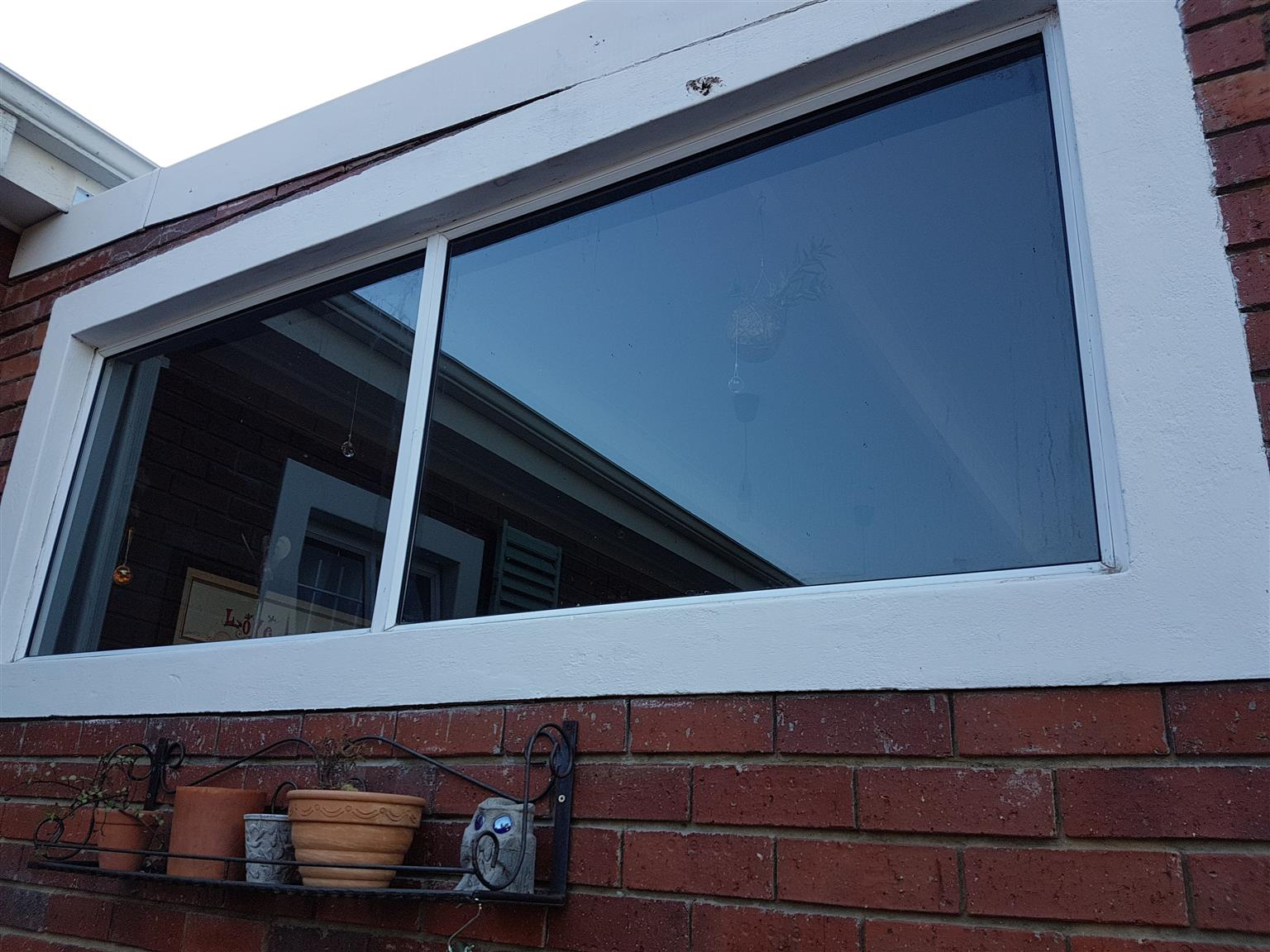 Twin panel window