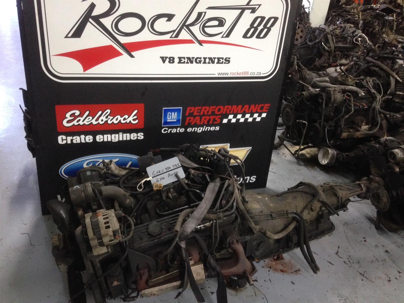 Chev 350 V8 engines