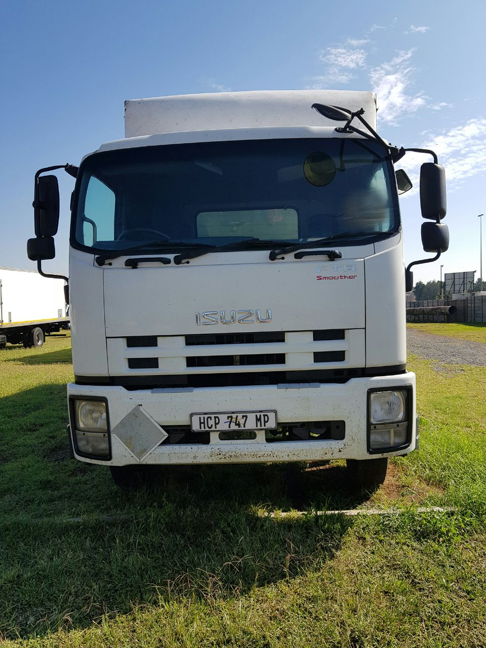 2013 Isuzu FTR850 Automatic, Closed Body truck for sale