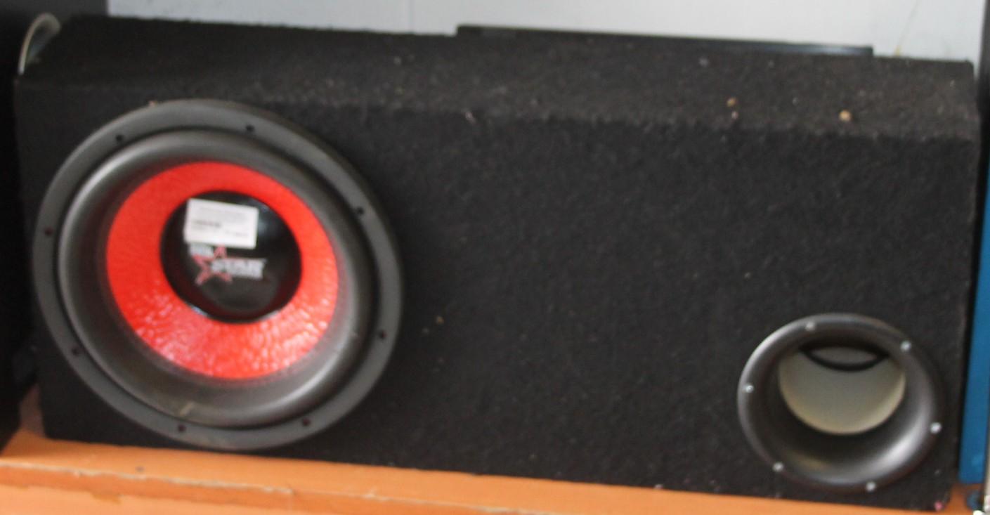 Digital star sound amp and sub S028961a #Rosettenvillepawnshop