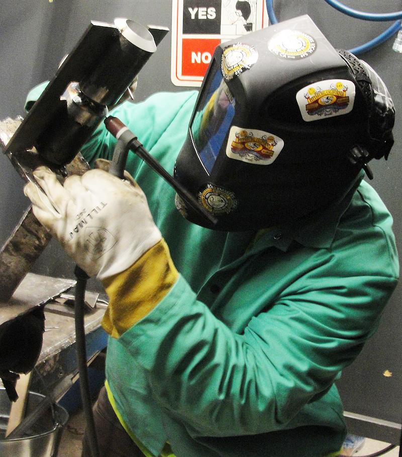 Boiler making.arc.steel welding training .co2 welding.argon welding.trade test. artisan course.