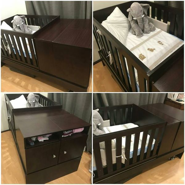 Kot4-1 Wooden cot for sale.