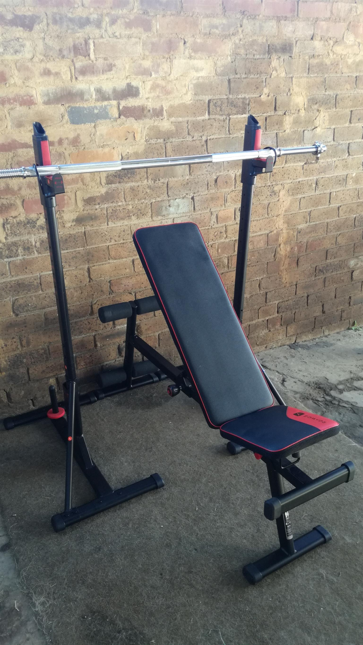 Bench Press with Squat rack