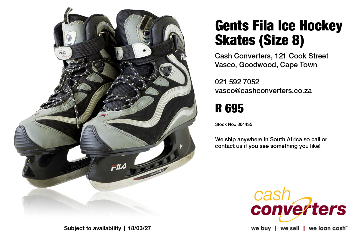 Gents Fila Ice Hockey Skates (Size 8)