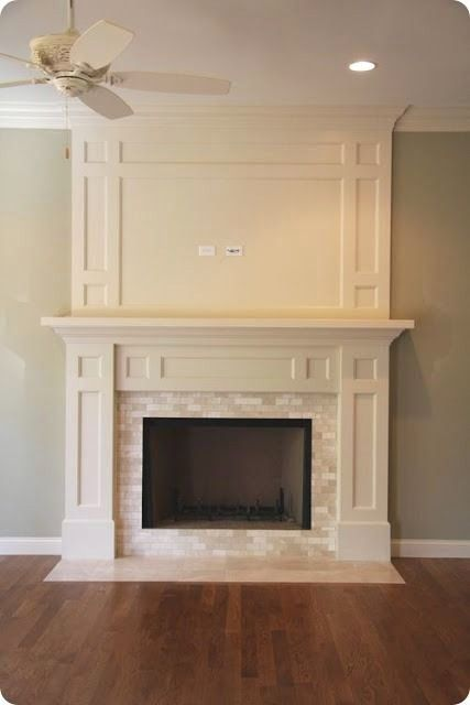 Custom made fireplace mantlepieces