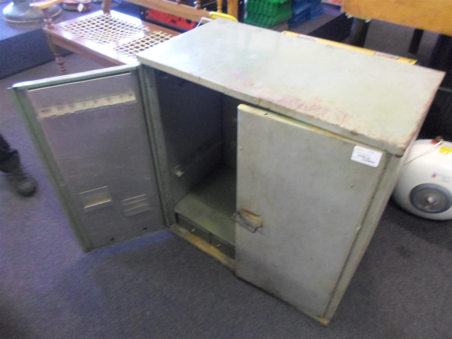 Large Steel Tool Cabinet
