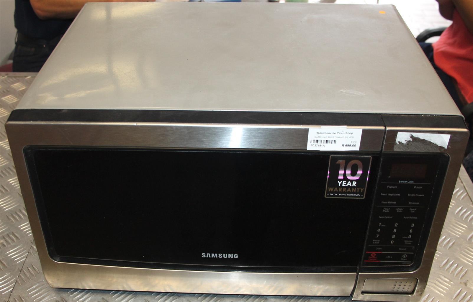 Samsung microwave S027151a #Rosettenvillepawnshop