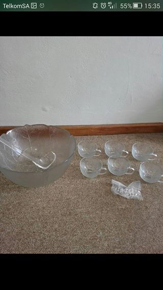 R300 - Aspen Punch Bowl set