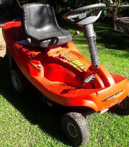 Ride-on mower for small lawns - Mirage Easy Life 6.5hp