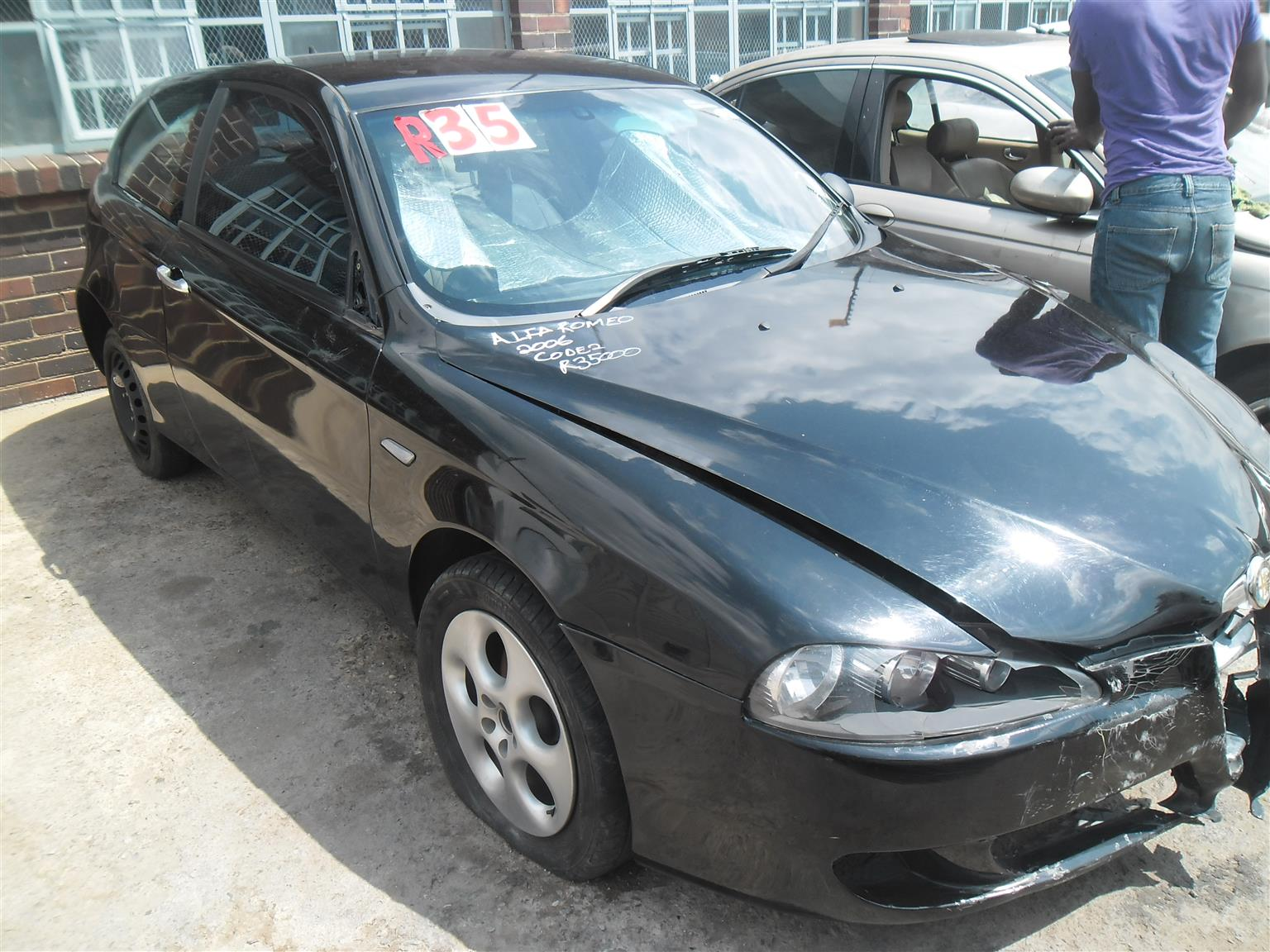 ALFA ROMEO STRIPPING FOR PARTS DOORS FOR SALE Junk Mail - Alfa romeo 147 for sale