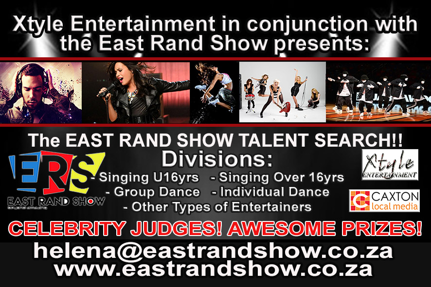 Talent Search Competition at the East Rand Show!