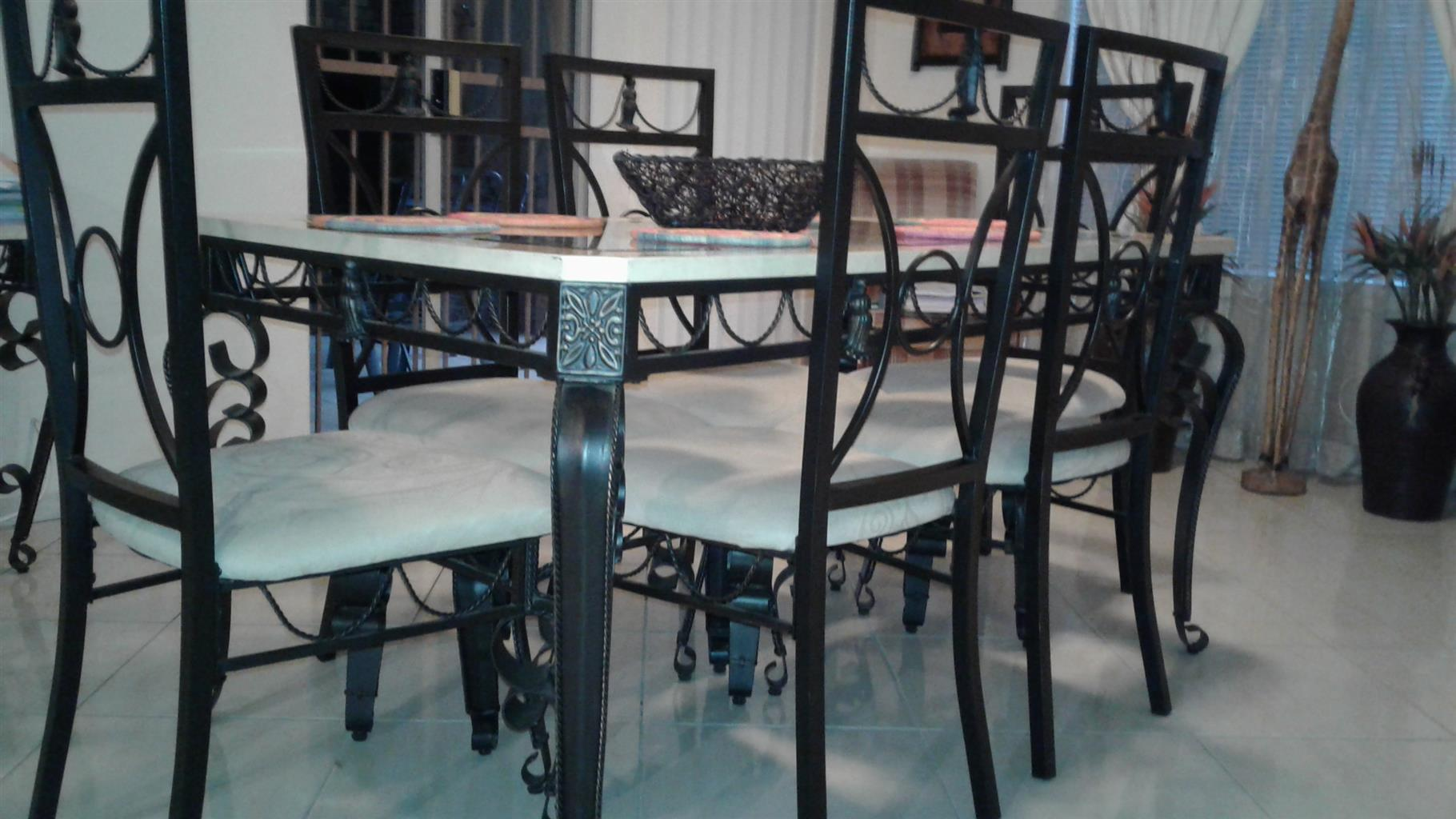 Wrought Iron Dining room set