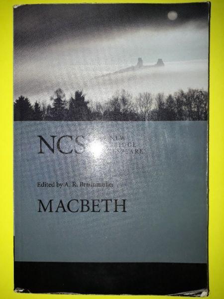 Macbeth - A. R. Braunmuller - Cambridge.