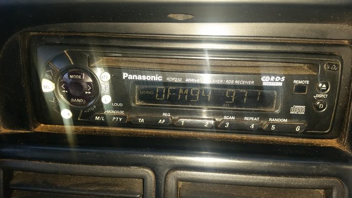 Panasonic Kar Radio