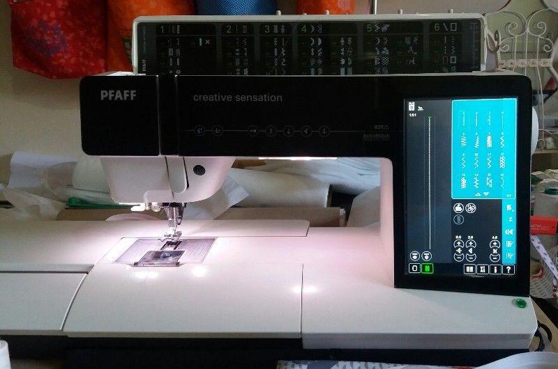 PFAFF Creative Sensation Embroidery and Sewing Machine Combo