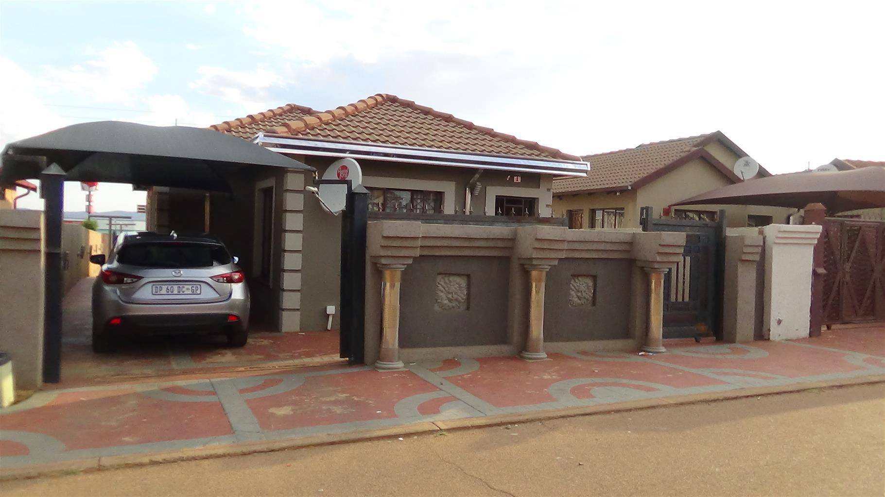 Stunning 3 Bedroom House in Soshanguve VV – R 750 000