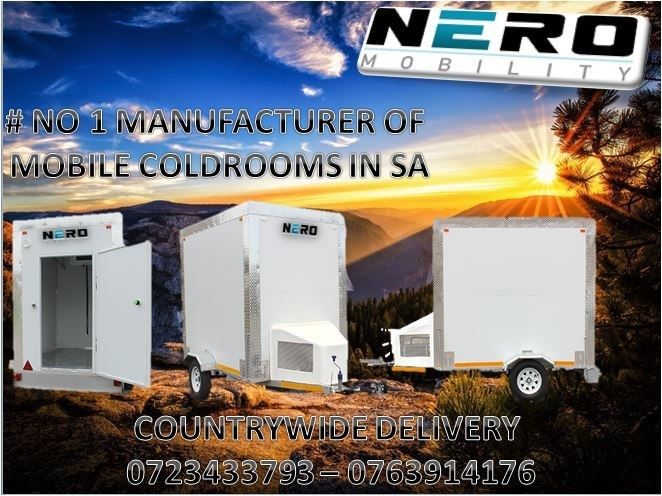 Mobile cold room / freezer from R36,500