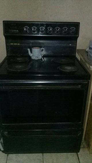 Defy stove with an oven