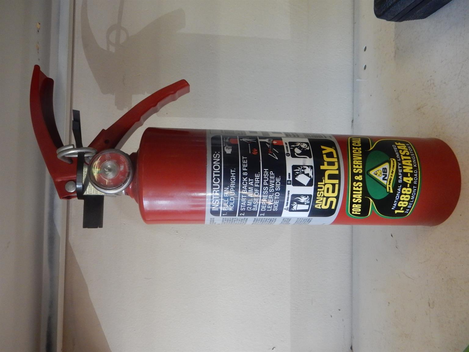 Ansul Sentry Fire Extinguisher