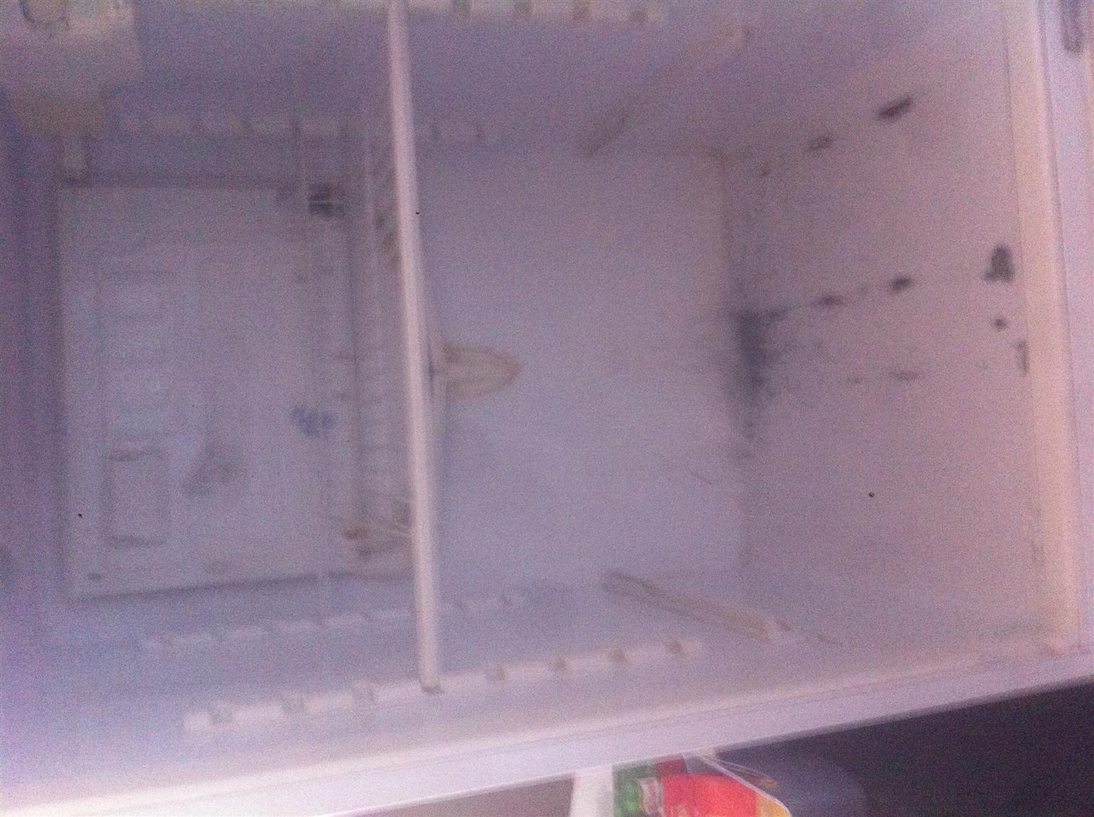 Fridge and freezer combo
