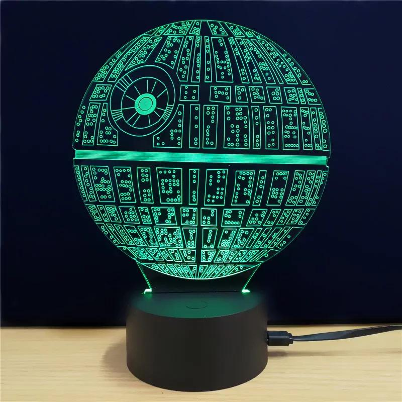 Shining Creative 3D LED Lamp