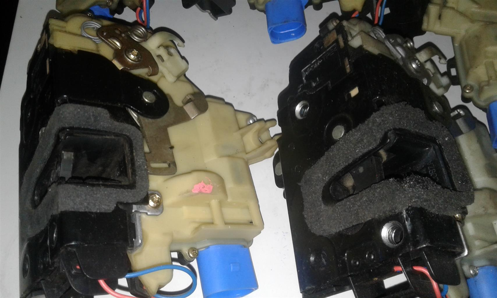 Audi central locking actuator repairs