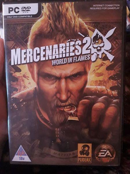 Mercenaries 2 game