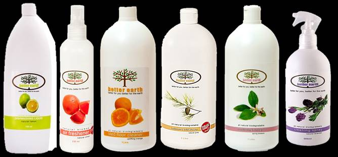 Organic Home Cleaners