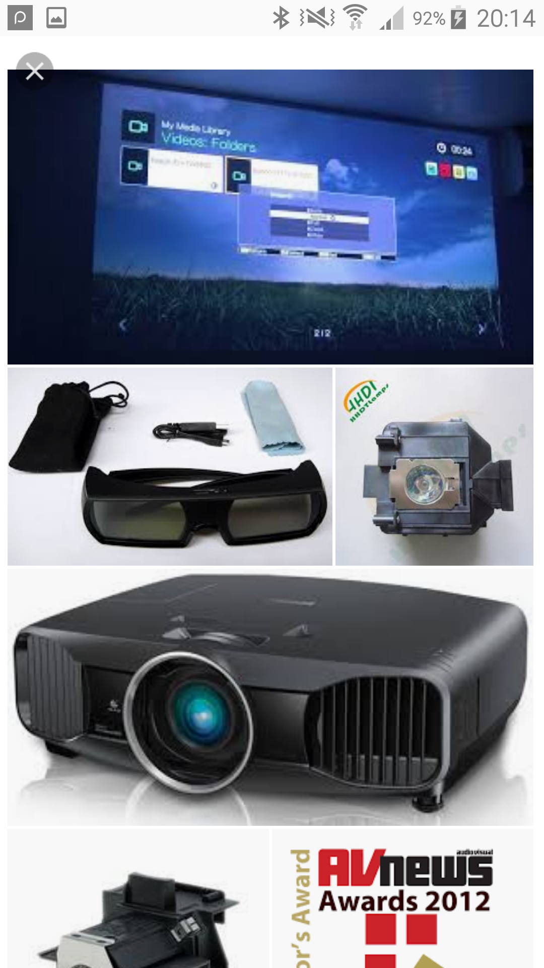 Epson 3d projector